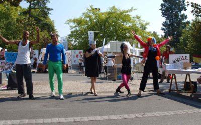 Performance de rue : L'A.P.F