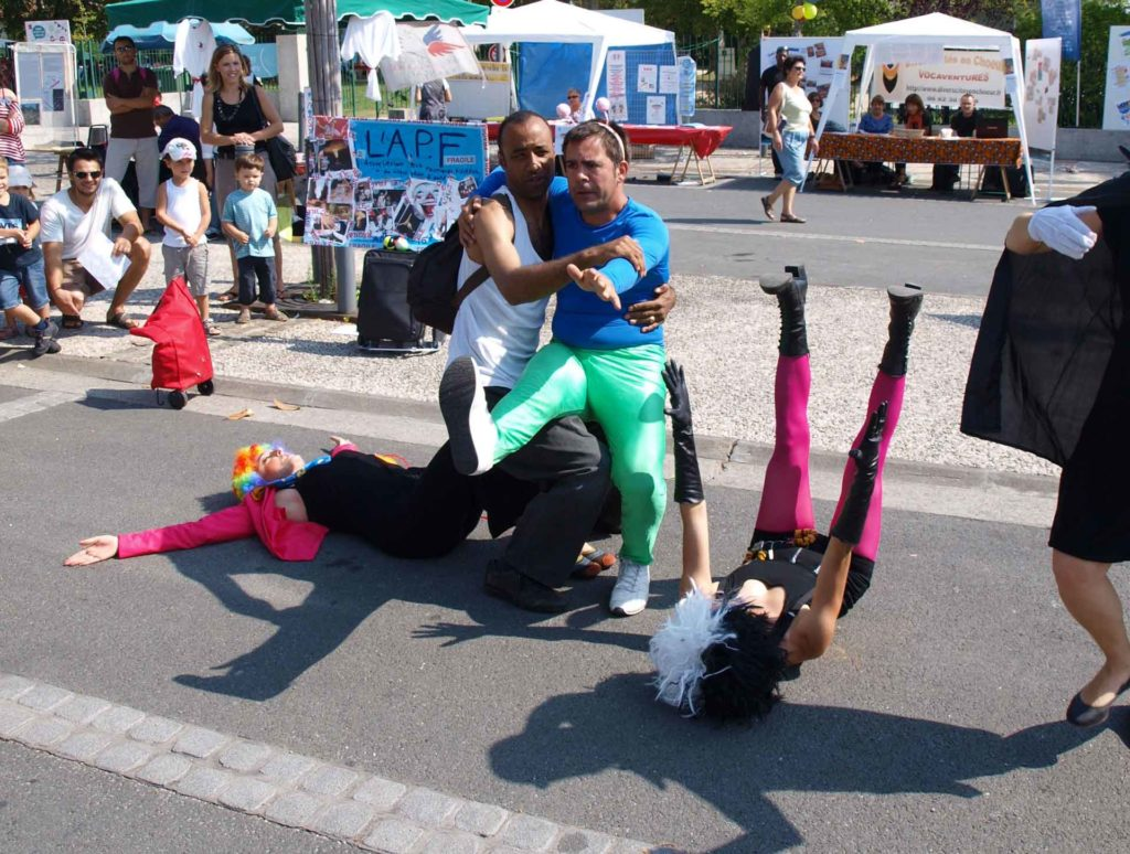 Performance de rue